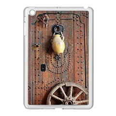 Oriental Wooden Rustic Door  Apple iPad Mini Case (White)