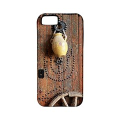 Oriental Wooden Rustic Door  Apple iPhone 5 Classic Hardshell Case (PC+Silicone)