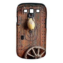Oriental Wooden Rustic Door  Samsung Galaxy S Iii Classic Hardshell Case (pc+silicone)