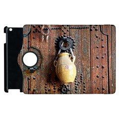 Oriental Wooden Rustic Door  Apple iPad 2 Flip 360 Case