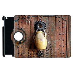 Oriental Wooden Rustic Door  Apple iPad 3/4 Flip 360 Case