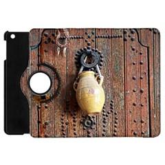 Oriental Wooden Rustic Door  Apple iPad Mini Flip 360 Case