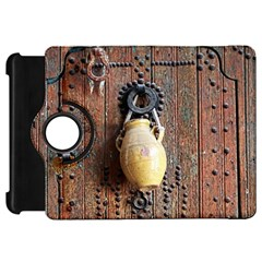 Oriental Wooden Rustic Door  Kindle Fire Hd Flip 360 Case