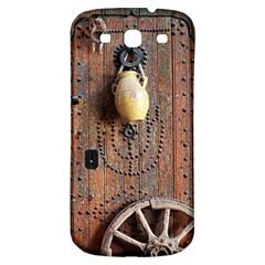 Oriental Wooden Rustic Door  Samsung Galaxy S3 S III Classic Hardshell Back Case