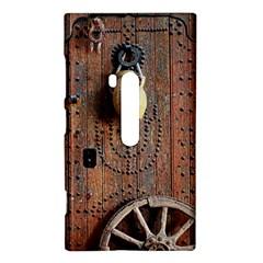 Oriental Wooden Rustic Door  Nokia Lumia 920