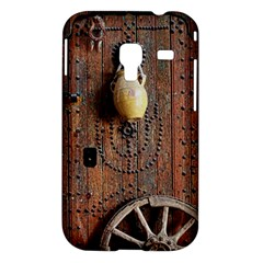 Oriental Wooden Rustic Door  Samsung Galaxy Ace Plus S7500 Hardshell Case