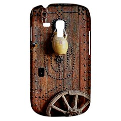 Oriental Wooden Rustic Door  Samsung Galaxy S3 MINI I8190 Hardshell Case