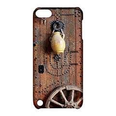 Oriental Wooden Rustic Door  Apple iPod Touch 5 Hardshell Case with Stand