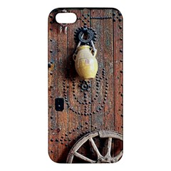 Oriental Wooden Rustic Door  Apple iPhone 5 Premium Hardshell Case