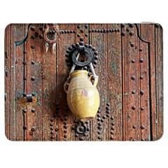 Oriental Wooden Rustic Door  Samsung Galaxy Tab 7  P1000 Flip Case