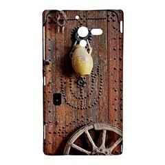 Oriental Wooden Rustic Door  Sony Xperia ZL (L35H)