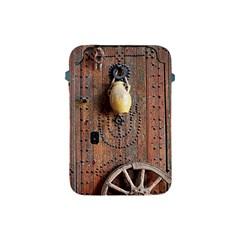 Oriental Wooden Rustic Door  Apple Ipad Mini Protective Soft Cases