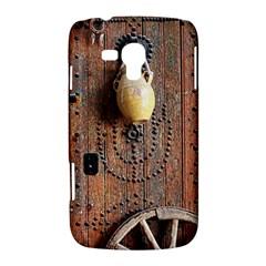 Oriental Wooden Rustic Door  Samsung Galaxy Duos I8262 Hardshell Case