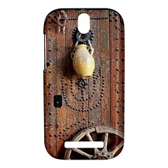 Oriental Wooden Rustic Door  HTC One SV Hardshell Case