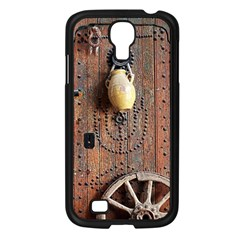 Oriental Wooden Rustic Door  Samsung Galaxy S4 I9500/ I9505 Case (black)