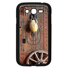 Oriental Wooden Rustic Door  Samsung Galaxy Grand DUOS I9082 Case (Black)
