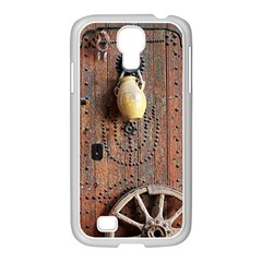 Oriental Wooden Rustic Door  Samsung GALAXY S4 I9500/ I9505 Case (White)
