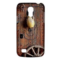 Oriental Wooden Rustic Door  Galaxy S4 Mini