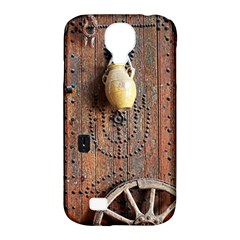 Oriental Wooden Rustic Door  Samsung Galaxy S4 Classic Hardshell Case (pc+silicone)