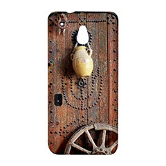 Oriental Wooden Rustic Door  HTC One Mini (601e) M4 Hardshell Case