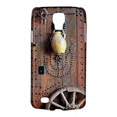 Oriental Wooden Rustic Door  Galaxy S4 Active