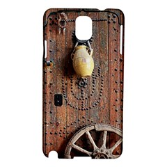 Oriental Wooden Rustic Door  Samsung Galaxy Note 3 N9005 Hardshell Case