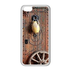 Oriental Wooden Rustic Door  Apple iPhone 5C Seamless Case (White)