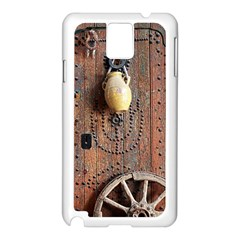 Oriental Wooden Rustic Door  Samsung Galaxy Note 3 N9005 Case (White)