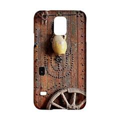 Oriental Wooden Rustic Door  Samsung Galaxy S5 Hardshell Case