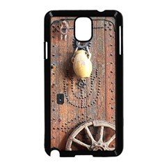 Oriental Wooden Rustic Door  Samsung Galaxy Note 3 Neo Hardshell Case (Black)