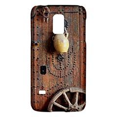 Oriental Wooden Rustic Door  Galaxy S5 Mini