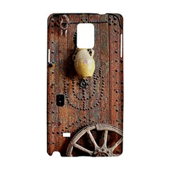 Oriental Wooden Rustic Door  Samsung Galaxy Note 4 Hardshell Case