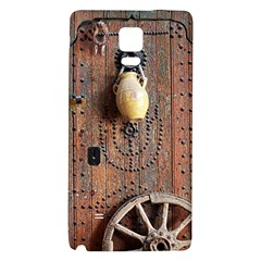 Oriental Wooden Rustic Door  Galaxy Note 4 Back Case
