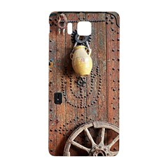 Oriental Wooden Rustic Door  Samsung Galaxy Alpha Hardshell Back Case
