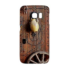 Oriental Wooden Rustic Door  Galaxy S6 Edge
