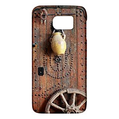 Oriental Wooden Rustic Door  Galaxy S6