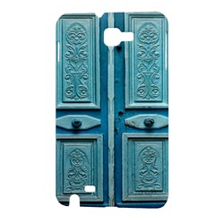 Turquoise Oriental Old Door Samsung Galaxy Note 1 Hardshell Case