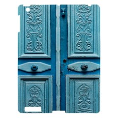 Turquoise Oriental Old Door Apple Ipad 3/4 Hardshell Case