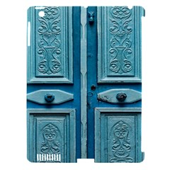 Turquoise Oriental Old Door Apple Ipad 3/4 Hardshell Case (compatible With Smart Cover)