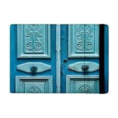 Turquoise Oriental Old Door Apple Ipad Mini Flip Case
