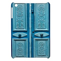Turquoise Oriental Old Door Apple Ipad Mini Hardshell Case