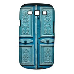Turquoise Oriental Old Door Samsung Galaxy S Iii Classic Hardshell Case (pc+silicone)