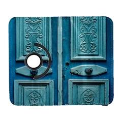 Turquoise Oriental Old Door Samsung Galaxy S  Iii Flip 360 Case