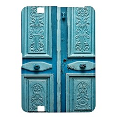 Turquoise Oriental Old Door Kindle Fire Hd 8 9