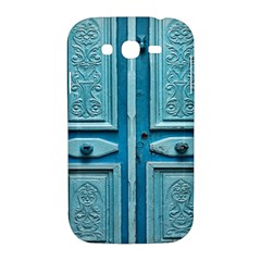 Turquoise Oriental Old Door Samsung Galaxy Grand DUOS I9082 Hardshell Case