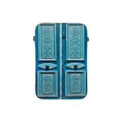 Turquoise Oriental Old Door Apple Ipad Mini Protective Soft Cases