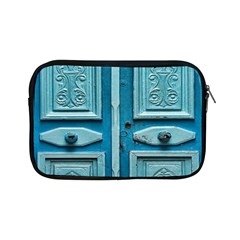 Turquoise Oriental Old Door Apple iPad Mini Zipper Cases