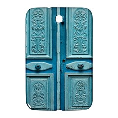 Turquoise Oriental Old Door Samsung Galaxy Note 8 0 N5100 Hardshell Case