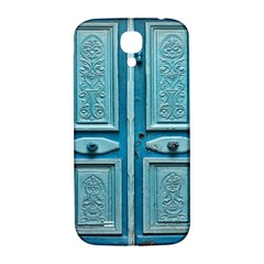 Turquoise Oriental Old Door Samsung Galaxy S4 I9500/I9505  Hardshell Back Case
