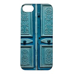 Turquoise Oriental Old Door Apple Iphone 5s/ Se Hardshell Case
